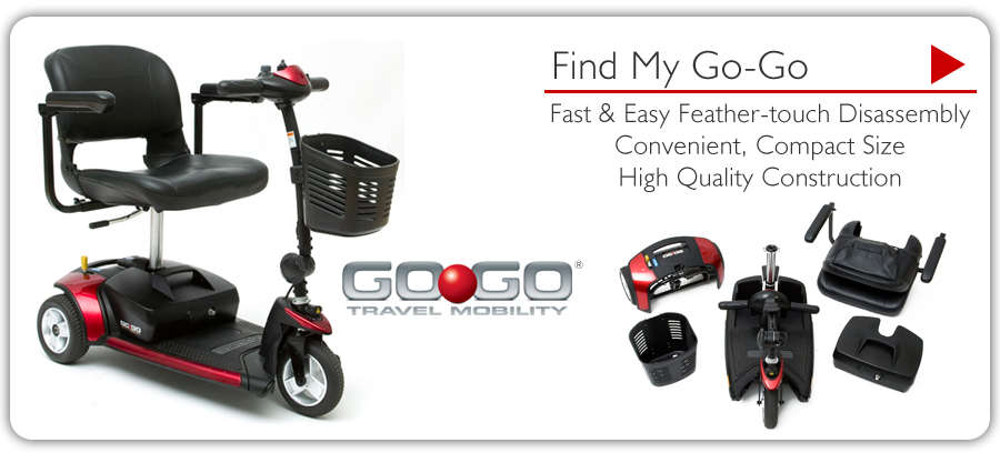 Go-Go Travel Mobility riverside scooter